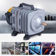 18w 38L/min Fish Tank Aquarium Air Pump Oxygen Aquaponics Hydroponics Pond 220V