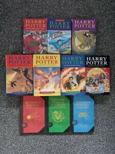 Harry Potter Hardback Book Set complete first editions