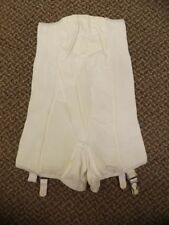 Rubber Vtg 50s 60s NEW High Waist Long Leg Shaper Girdle Garters Panties S 25/26