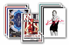 KYLIE MINOGUE  - 10 promotional posters - collectable postcard set # 3