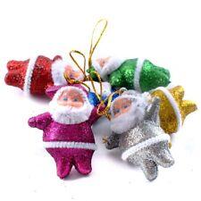 6PC Xmas Tree Hanging Christmas Snowman Ornaments Gift Santa Claus Elk Reindeer