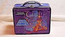 One Star Wars Tin Box Storage Box Lunch Box New & Unused 7 3/4 By 6 1/4 Inches