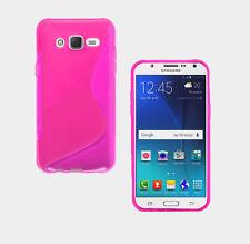 Onda de la línea de TPU Blando S Plástico de Silicona Gel goma funda Fo Nokia HTC LG MOTO