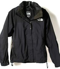 The North Face Hyvent Women's Black Hooded Skiing Snowboard Shell Jacket Sz. XS
