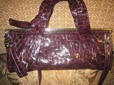 Renato Angi purple leather purse. NEW. Made in Italy.