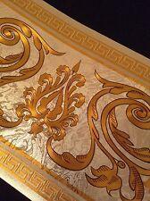 wunderschöne Barock Bordüre Gold ,VERSAC 5m lang 17,7 cm breit