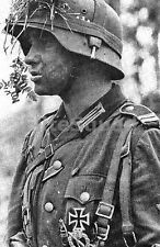 WW2 Picture Photo German soldier Decorated Landser on the Eastern Front 798