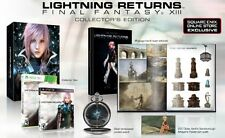 Final Fantasy XIII-3 Collector's Edition PS3 (Opened) CODE REDEEMED