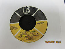 Look What They've Done to My Song Ma & It's a Beautiful Day - New Seekers 45 RPM