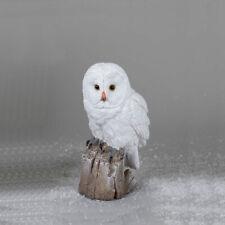 Eule 23 cm weiß Winterzeit Deko Figur Weihnachtsdeko Vogel Tier 721068 formano