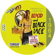"""Blood and Black Lace (1964) Classic Mystery and Thriller CULT """"B-Movie"""" DVD"""