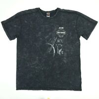 "Harley Davidson Biker T-Shirt 2XL Faded Black ""Smokin"" Winston-Salem"