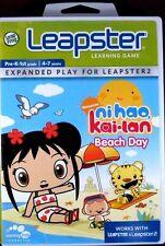 LEAPSTER Nickelodeon  Ni Hao Kai-Lan Beach Day Pre-K 1st Grade: age 4-7 Leapfrog