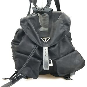 100% authentic Prada backpack Tesuto B2811 used with card 99-10-m