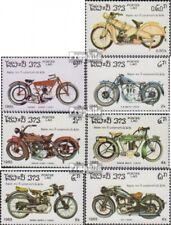 Laos 821-827 (complète edition) neuf avec gomme originale 1985 100 Années Motora