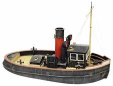 Verlinden Built 1:35 River - Harbor Tugboat (Tug) WWII Original Display #VPB2375