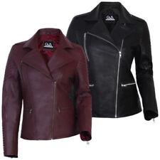 Manteaux et vestes noirs en cuir pour femme
