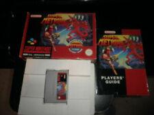 Super Metroid Nintendo SNES PAL Video Games