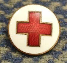 POLAND RED CROSS CLUB 1920's X-RARE GREATER ENAMEL PIN BADGE