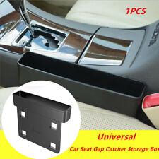 1PCS Car SUV's Seat Gap Catcher Storage Box Organizer Coin Console Side Pocket