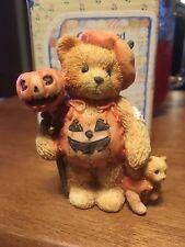 """Cherished Teddies Breanna """"Pumpkin Patch Pals"""" 617180 *New In Box*"""