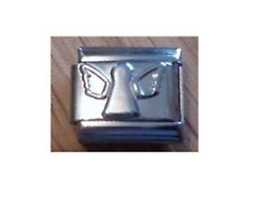 Italian Charm C26 Silver Guardian Angel Fits Classic Size Bracelet