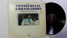 PENTECOSTAL AMBASSADORS - Lord, You're The One 1977 BLACK GOSPEL SOUL Savoy (LP)