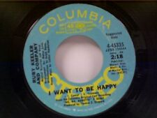 "RUBY KEELER & COMPANY ""I WANT TO BE HAPPY / TEA FOR TWO"" 45 PROMO"