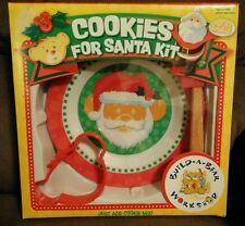 Build-A-Bear Workshop Cookies for Santa Kit Plate Cookie Cutter New in Box