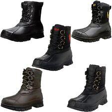 Polo Ralph Lauren Mens Crestwick Lace Up Duck Toe Waterproof Winter Boots Shoes