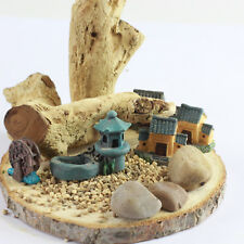 Miniature ORIENTAL VILLAGE Set for Fairy Gardens by Mowbray Miniatures (7 pcs)