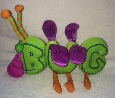 Word World Plush Magnetic Stuffed Toy BUG Green B U G Pull Apart Build Words