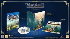 Ni No Kuni II 2 Princess Collectors Edition PS4 NEW Game/Season Pass/Steelbook +