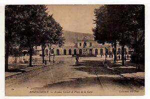 A1039) FRANCE 1905 PC  Remiremont  Place de la Gare