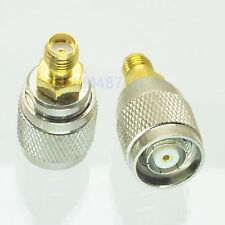 1pce Adapter Rp.Tnc jack male to Sma female jack Rf connector straight M/F