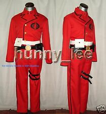 G.I. Joe Cobra Commander Cosplay Costume Red Version Custom-Made