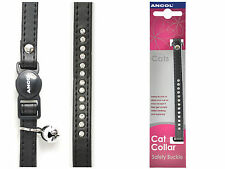 Ancol Deluxe Jewel Diamante Cat Collar  Baby Pink/Baby Blue/Cerise Pink/Black