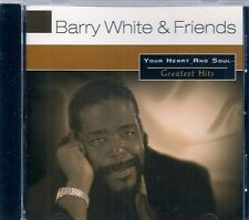 CD COMPIL 16 TITRES--BARRY WHITE & FRIENDS--YOU HEART AND SOUL VOL 1