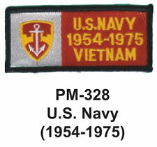 """3""""  U.S. NAVY (1954-1975) Embroidered Military Patch"""