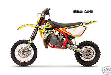 Dirt Bike Graphics Kit decal Sticker Wrap For Cobra CX50 2007-2012 URBAN CAMO Y