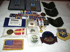 Military Insignia Pins - Ribbons - Badges Variety Mix lot Airforce
