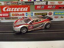 NINCO 1:32 SILVER / RED #45 ASCAR K21 GIGAWAVE SLOT CAR With NC-5 SPEEDER MOTOR
