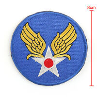 WW2 WWII U.S Army Air Force Usaaf Embroidered Hook & Loop Patch