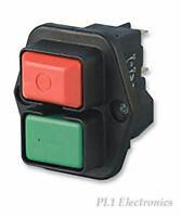 1683.1201 Switch push-button Positions2 SPST-NO 16A//250VAC black none  MARQUARDT