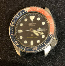 Vintage Seiko 7548 700F Diver 150M Pepsi Bezel Wristwatch *Perfect Time * Look !