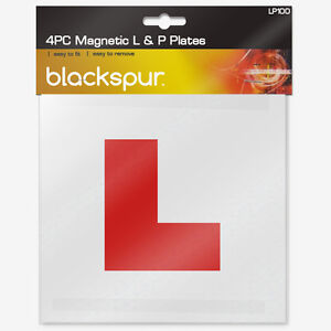 MAGNETIC PAIR OF L PLATES AND P PLATES BRAND NEW IN PACKAGING FREE POSTAGE