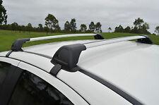 Aerodynamic Roof Rack Cross Bar for Mitsubishi Triton Double Cab 2006-15 Alloy
