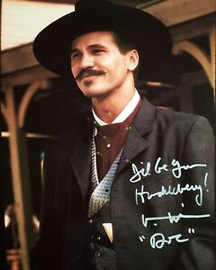 Val Kilmer Doc Holiday Tombstone Autographed Signed 8x10 Photo Reprint