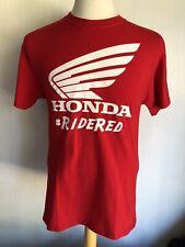 HONDA RACING Official #RIDERED Motorcycle Powersports Men's T-Shirt Size Medium