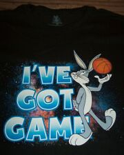 WB LOONEY TUNES BUGS BUNNY I'VE GOT GAME BASKETBALL SPACE JAM T-Shirt 2XL NEW